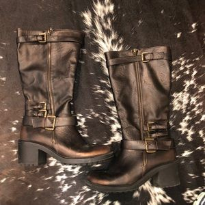 Maurice's Knee high boots. Casey style. Size 9